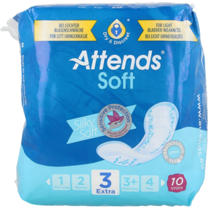 Attends Attends Soft Extra 3 10st