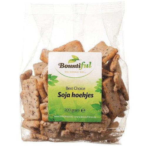 Bountiful Bountiful Rijstcrackers Soya Cookie 200gr