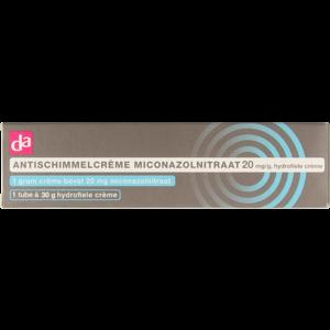 DA Da Antischimmelcreme Miconazolnitraat 20mg 30gr