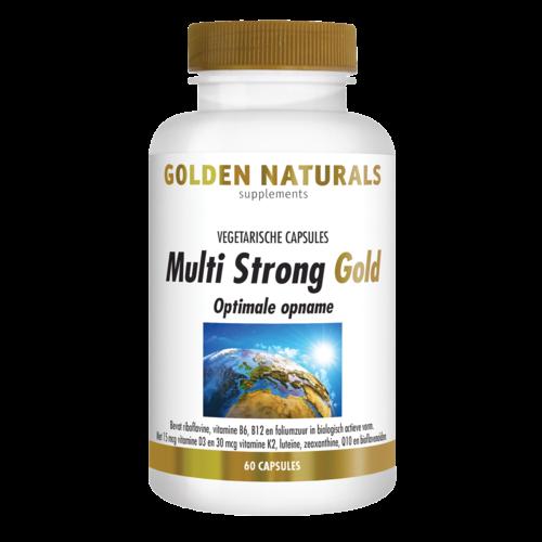 Golden Naturals Golden Naturals Multi Strong Gold 60cap
