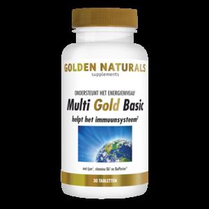 Golden Naturals Golden Naturals Multi Strong Gold Basic 30tab