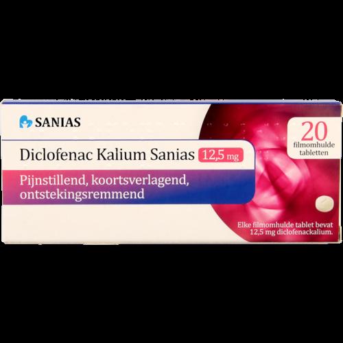 Sanias Sanias Diclofenac Kalium 12.5mg 20st
