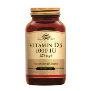 Solgar Solgar Vitamins D3 1000ug 100soft