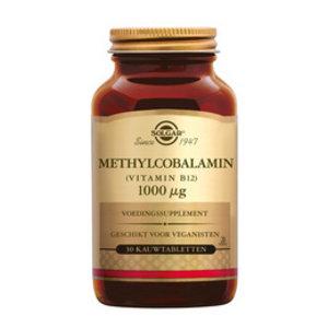 Solgar Solgar Vitamins Methylcobalamin 1000mcg 30kauw