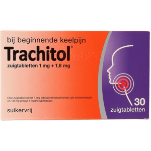 Trachitol Trachitol Zuigtabletten 30st