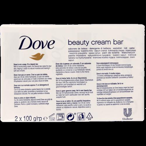 Dove Dove Zeep Beauty 2x100gr