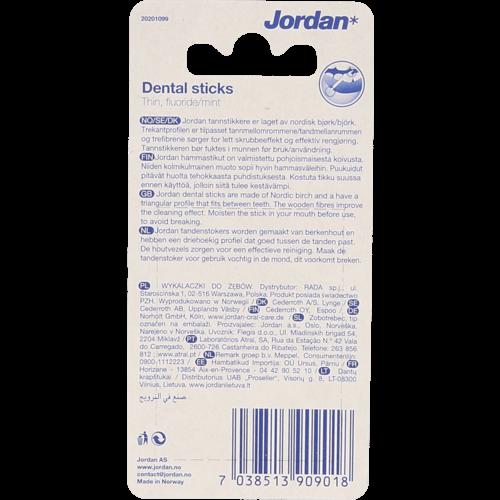 Jordan Jordan Tandenstokers Dun 100st