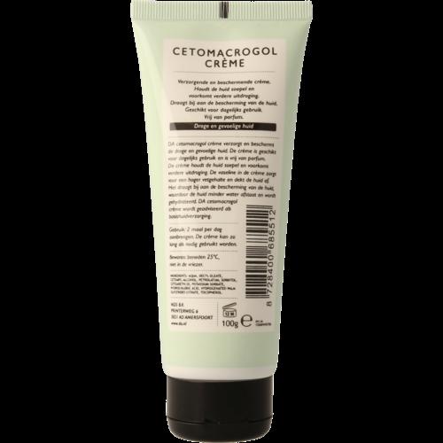 DA eigen merk DA Cetomacrogol crème met 0,1 vaseline 100ml