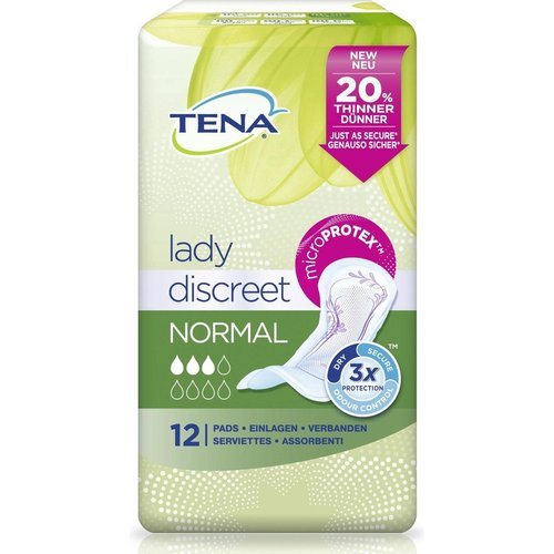 Tena Tena lady discreet normal 12st