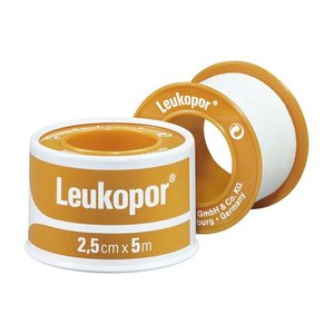 Leukopor Leukopor 5mx2.5cm eurolock hangend