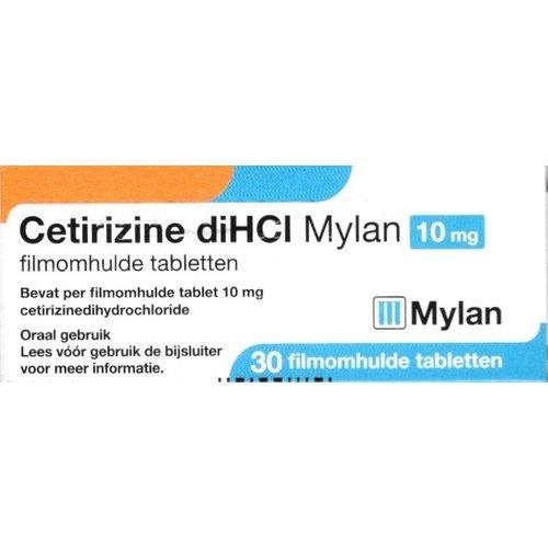 Mylan Mylan Cetrizine10mg