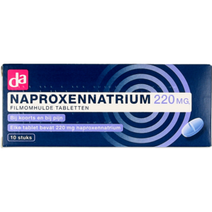 DA DA Naproxennatrium 220mg tab