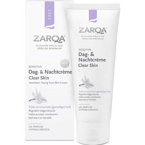 Zarqa Zarqa dag- en nachtcreme Clear Skin