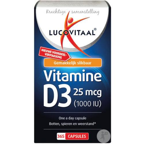 lucovitaal Lucovitaal Vitamine D 120 stuks