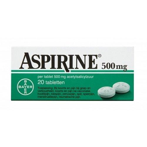 Aspirine Aspirine tabl 500mg
