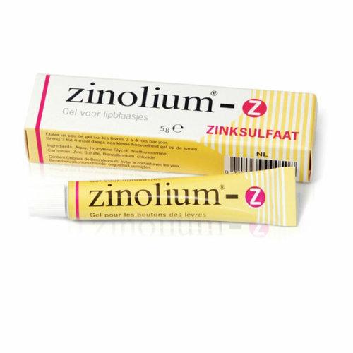 Zinolium Zinolium Lipblaasjesgel