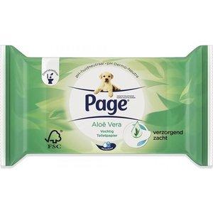 Page Page Vochtig Toiletpapier Aloe Vera