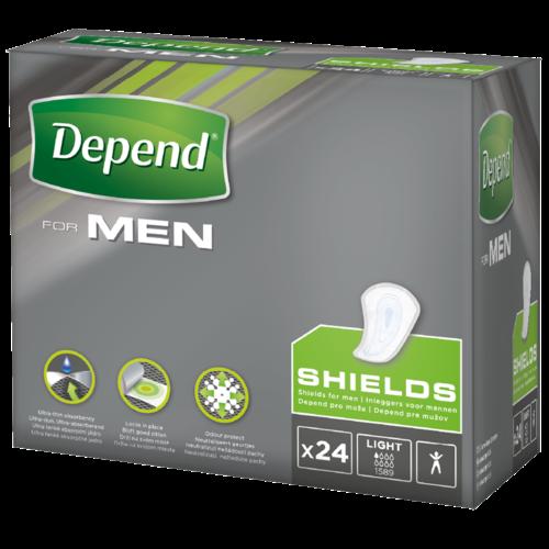 Depend Depend For Men Inleg Light