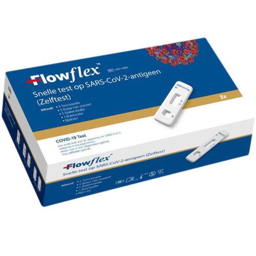 flowflex Corona zelftest 5st verpakking