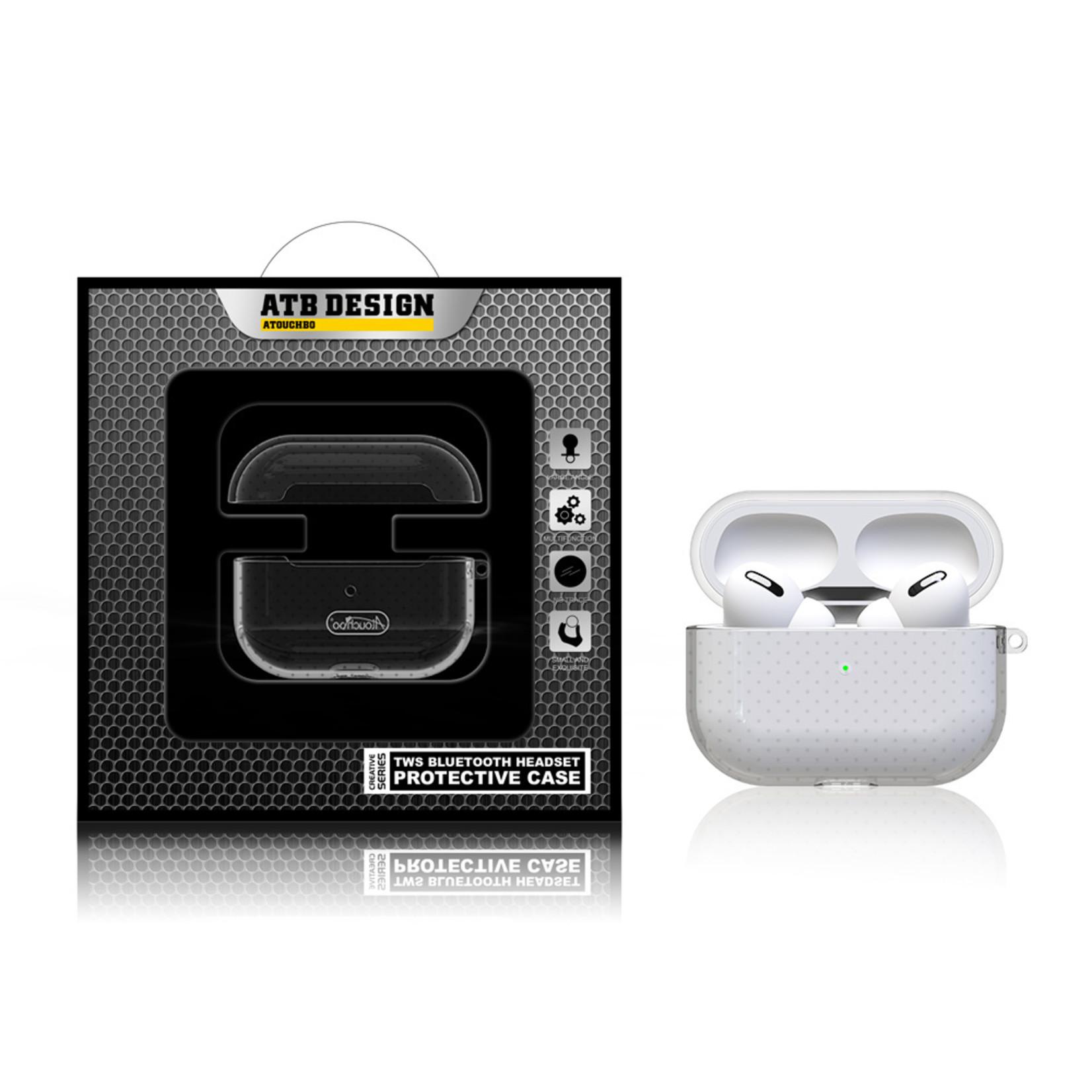 ATB Design Apple Airpod Pro TPU Case Transparant