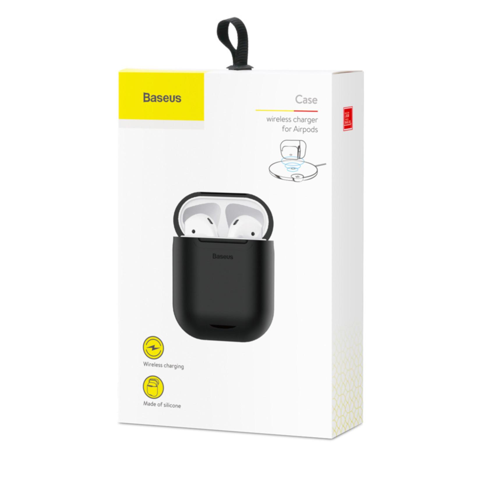 Baseus Case Wireless Charger voor Airpods Zwart