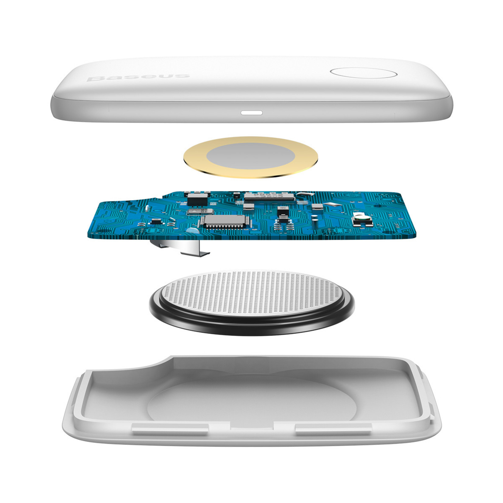 Baseus Bluetooth Tracker T2 Wit