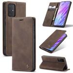 CaseMe Retro Wallet Slim voor S20 Plus Bruin