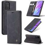 CaseMe Retro Wallet Slim voor S20 Zwart