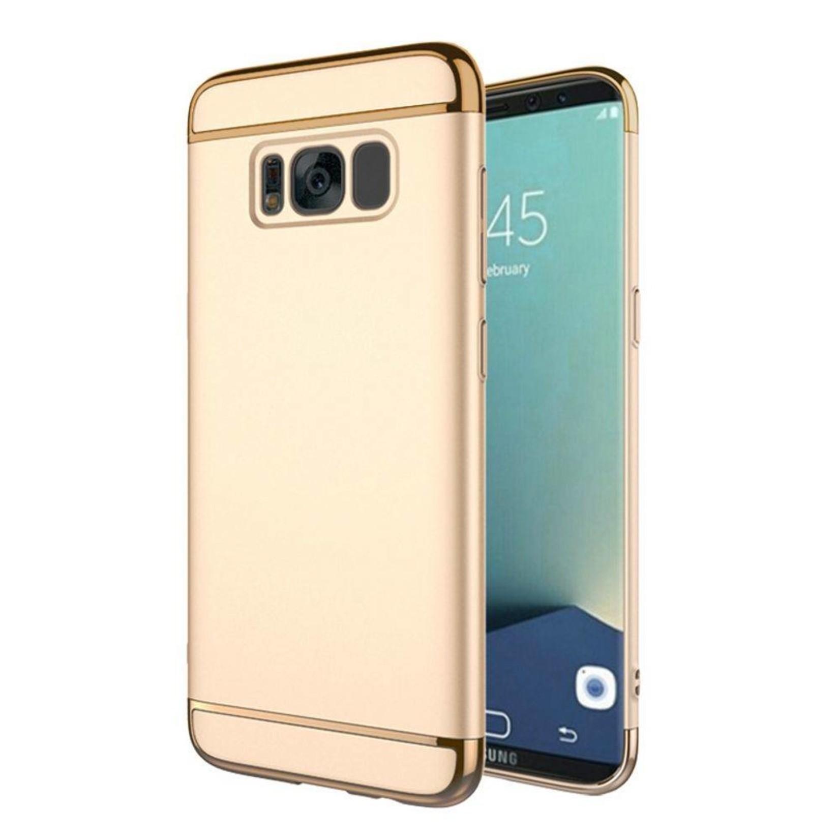 Colorfone BackCover 3-in-1 voor Samsung S8 Plus Goud+Goud