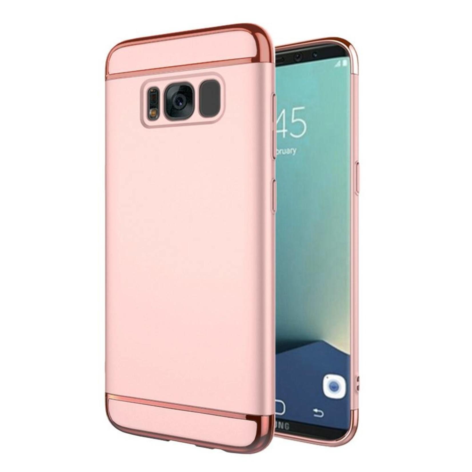 Colorfone BackCover 3-in-1 voor Samsung S8 Plus Roze+Rosé Goud