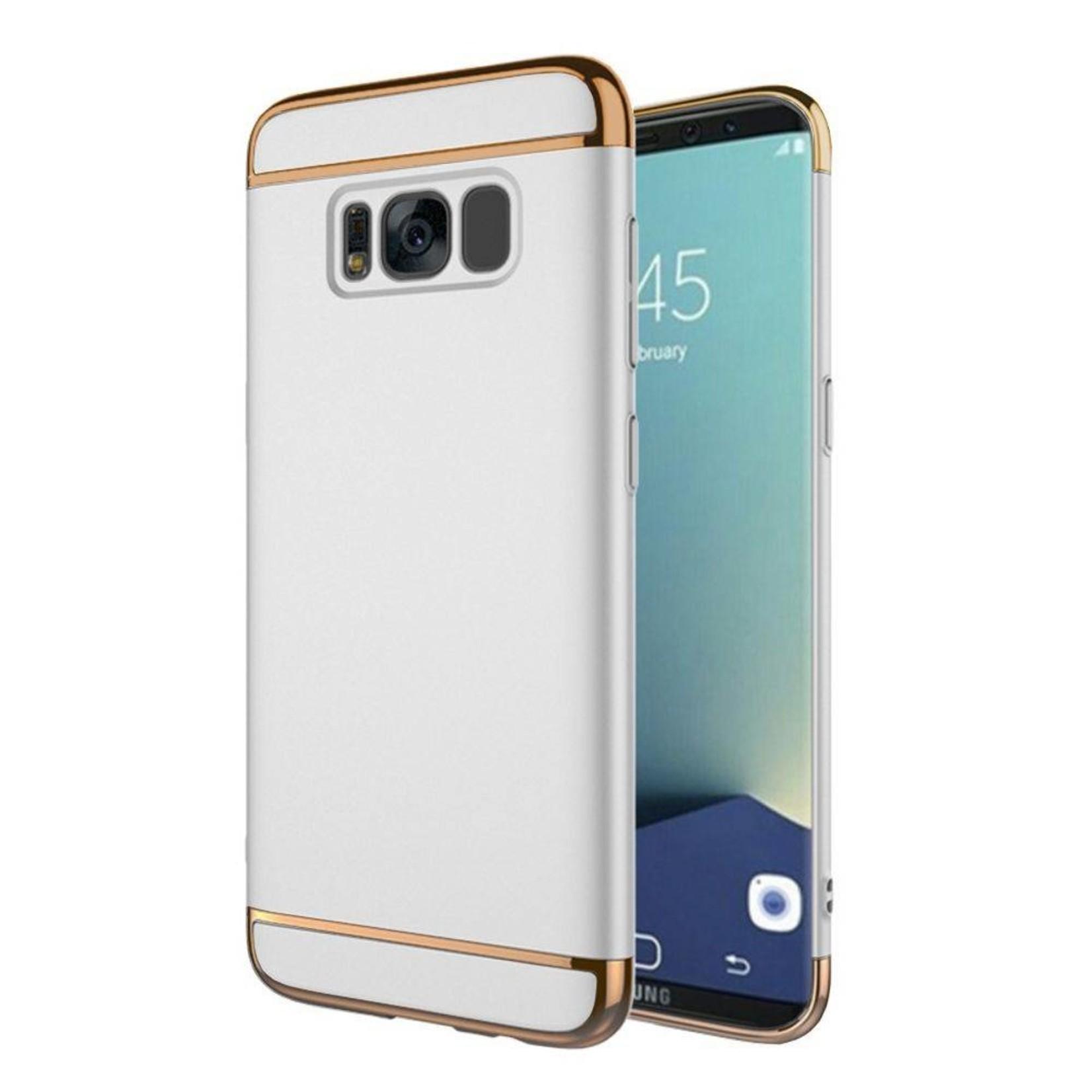 Colorfone BackCover 3-in-1 voor Samsung S8 Plus Zilver+Goud