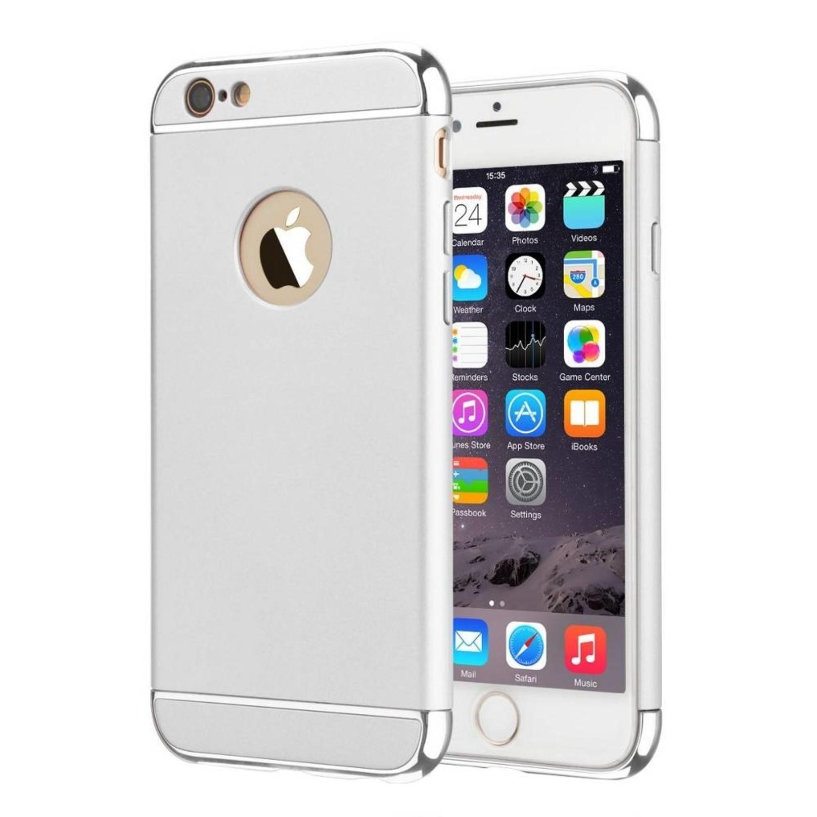 Colorfone BackCover 3-in-1 voor Apple iPhone 7 Zilver+Zilver