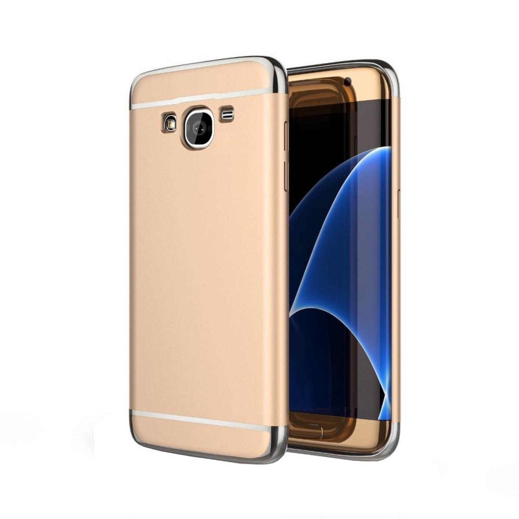 Colorfone BackCover 3-in-1 voor Samsung J5 Goud+Zilver
