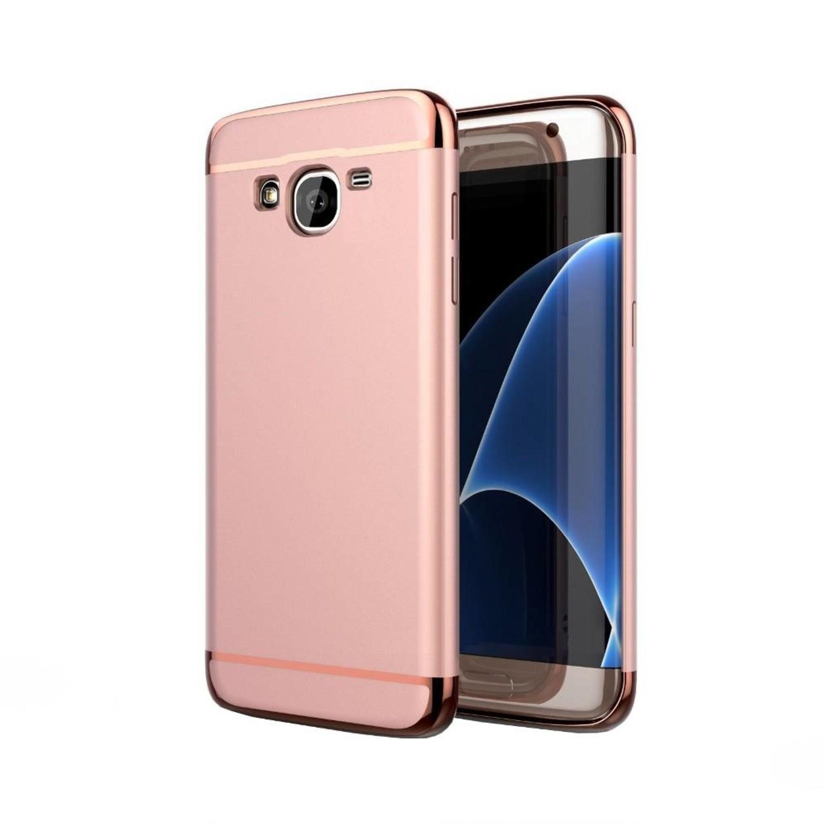 Colorfone BackCover 3-in-1 voor Samsung J5 Roze+Rosé Goud