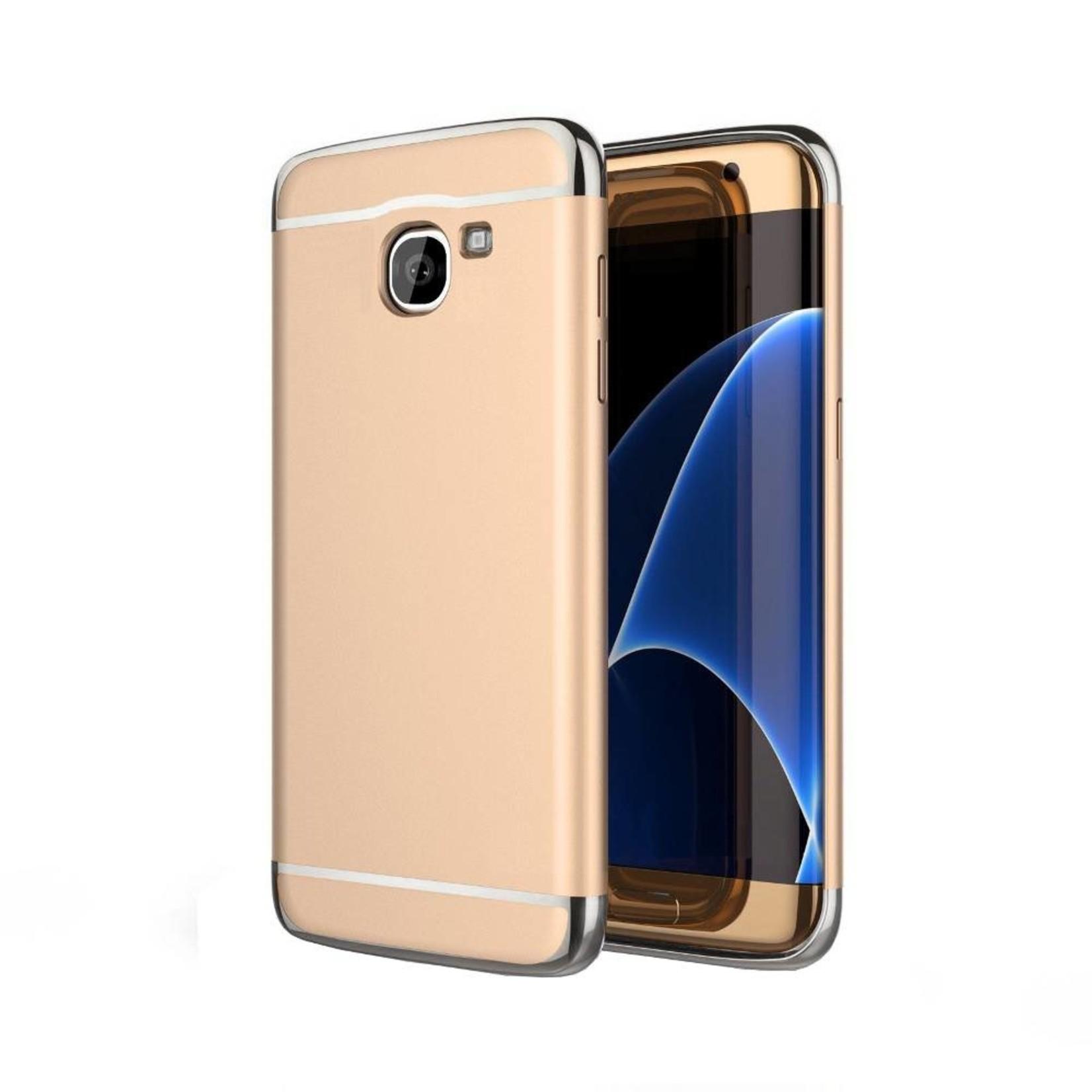 Colorfone BackCover 3-in-1 voor Samsung J7 Goud+Zilver