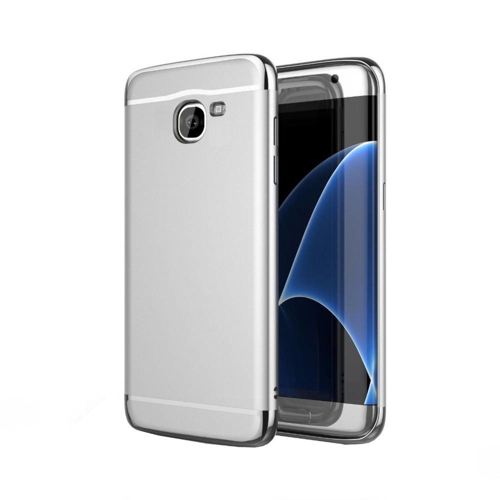 Colorfone BackCover 3-in-1 voor Samsung J7 Zilver+Zilver