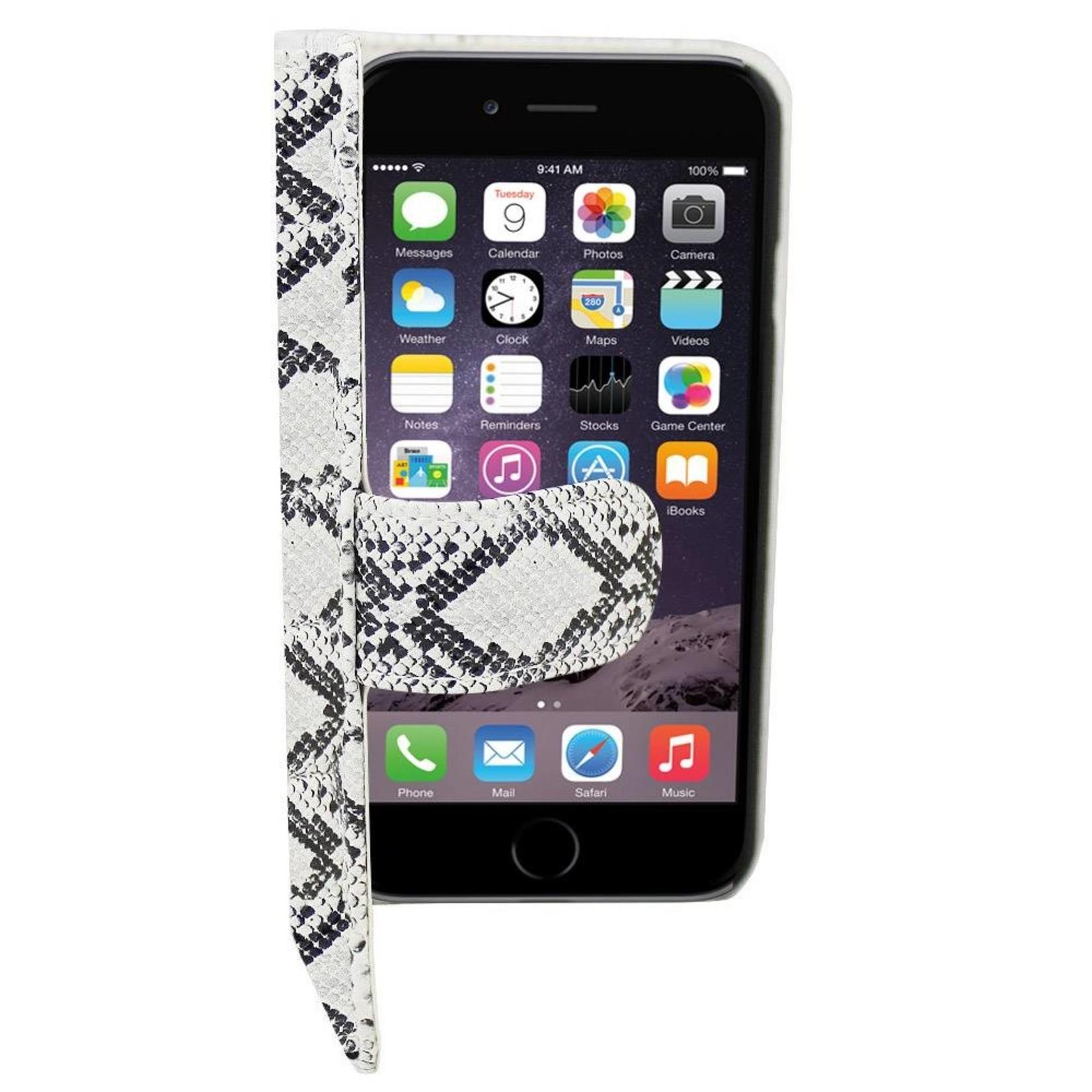 Colorfone Hoesje Book1 voor Apple iPhone 6 Serpentijn Wit