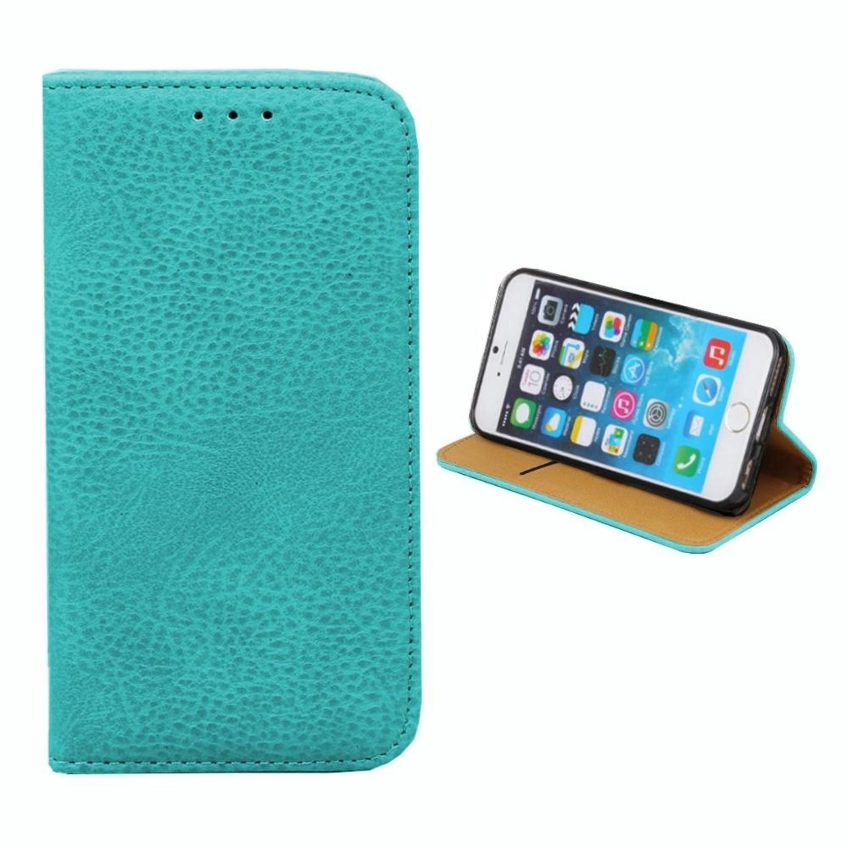 Colorfone Hoesje Book voor Apple iPhone 6/6S Turquoise