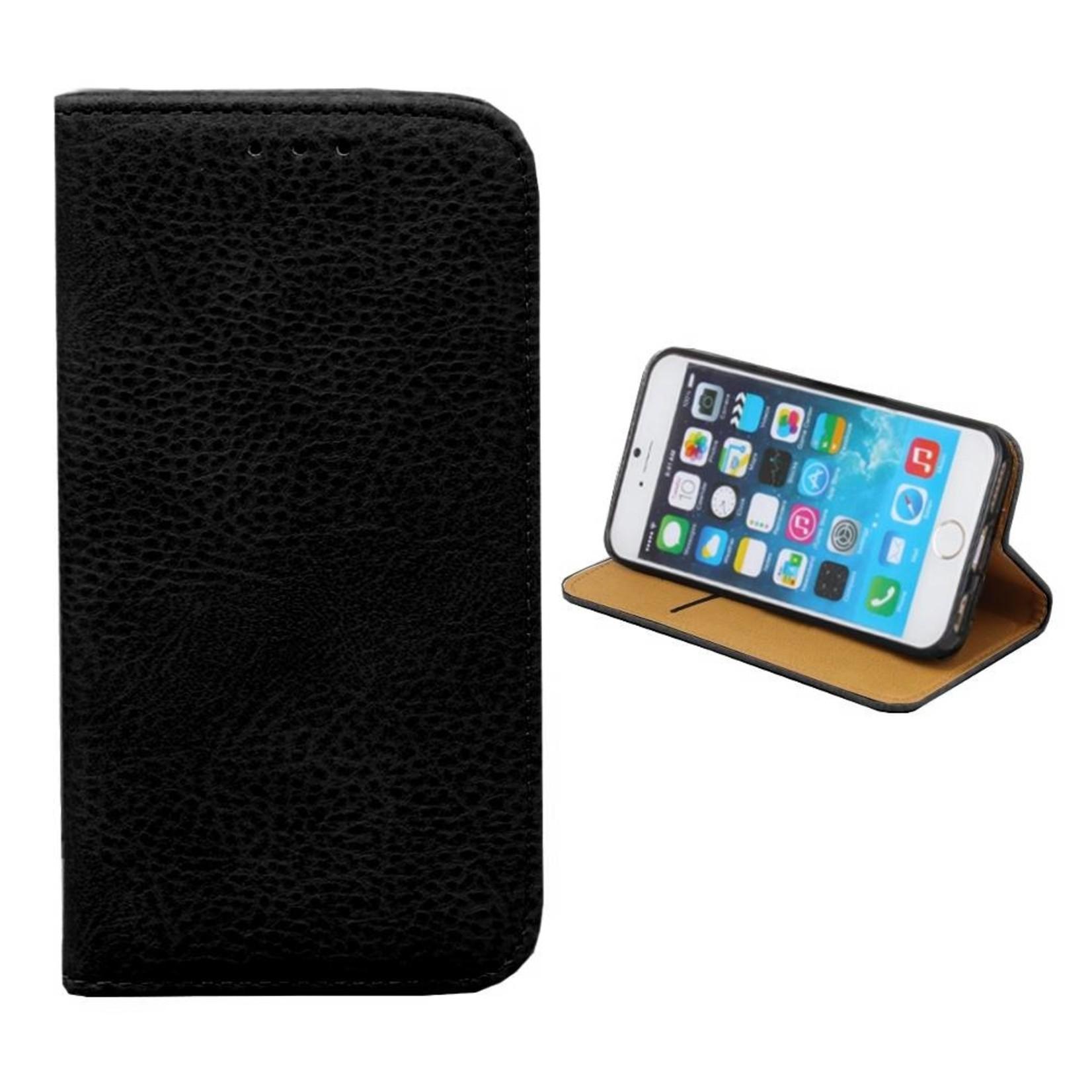 Colorfone Hoesje Book voor Apple iPhone 8 Plus/7 Plus Zwart