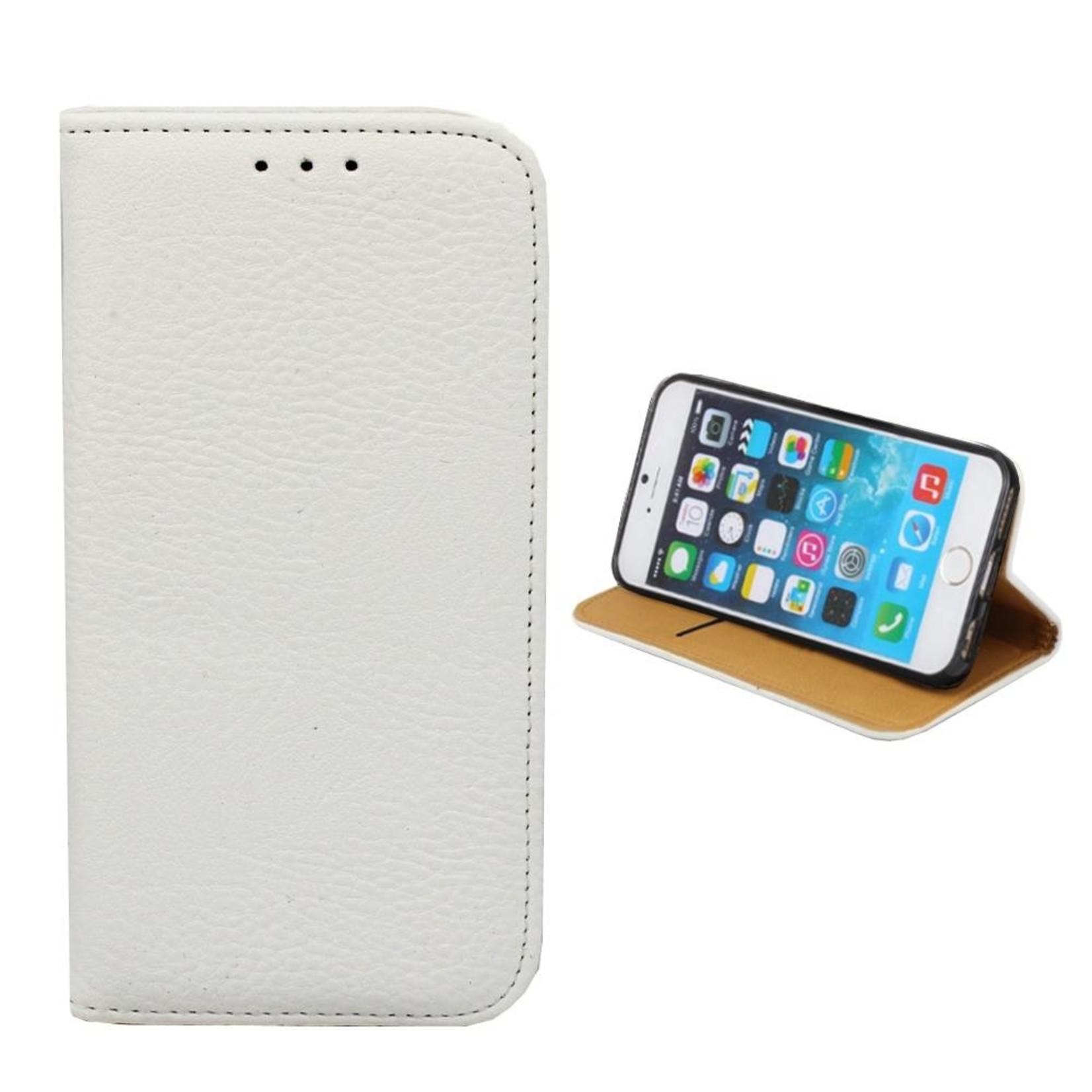 Colorfone Hoesje Book voor Apple iPhone 8/7 Wit