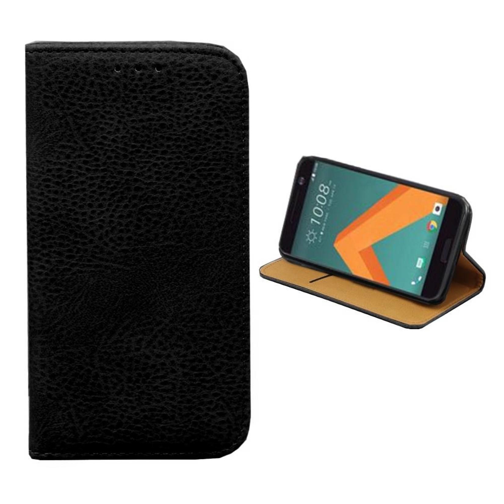 Colorfone Hoesje Book voor HTC 10 Zwart