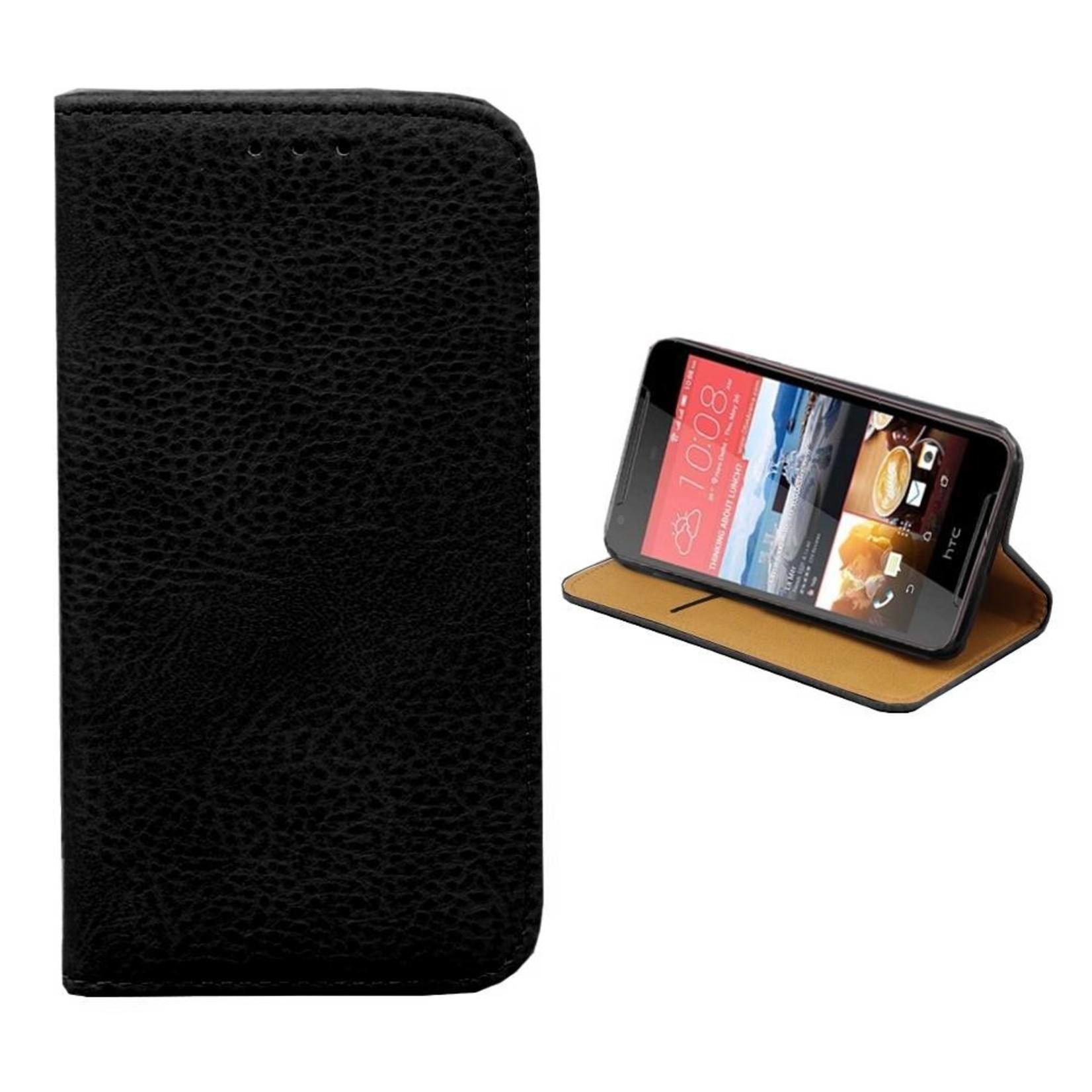 Colorfone Hoesje Book voor HTC Desire 830 Zwart