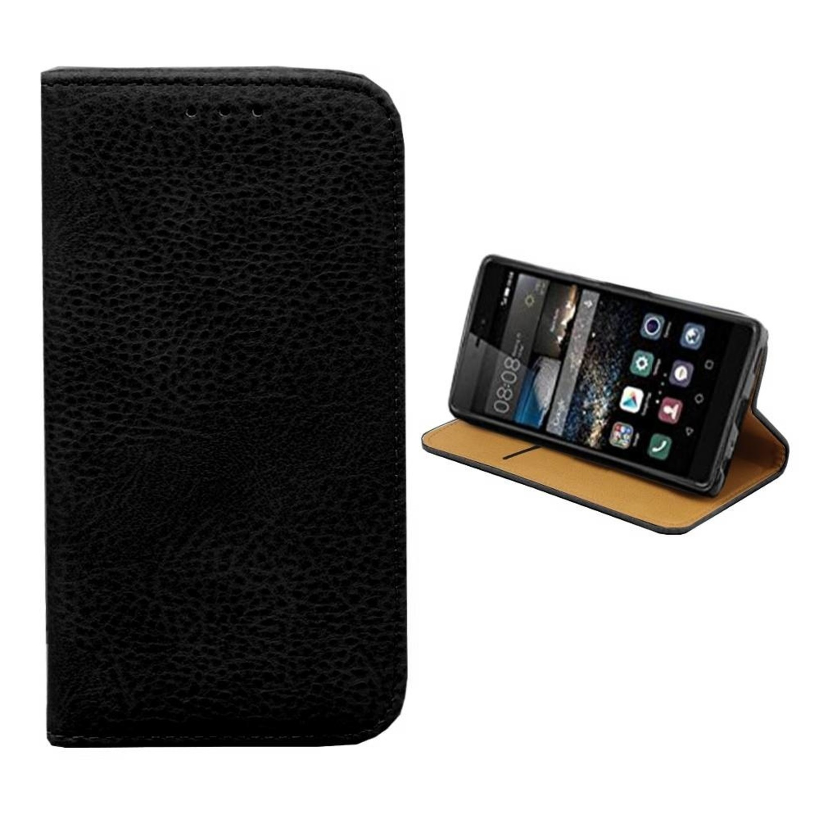 Colorfone Hoesje Book voor Huawei Mate 9 Zwart