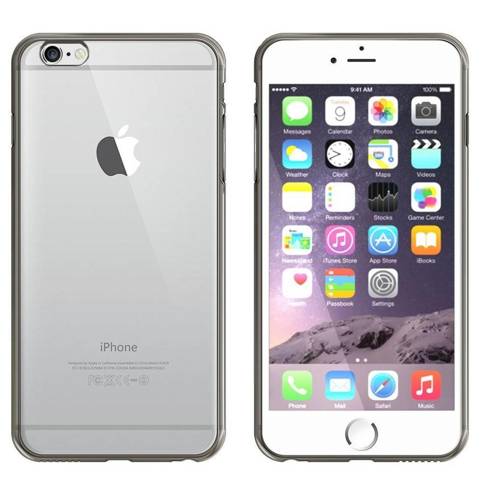 Colorfone Hoesje CoolSkin Bumper Clear Apple iPhone 8/7 Zwart