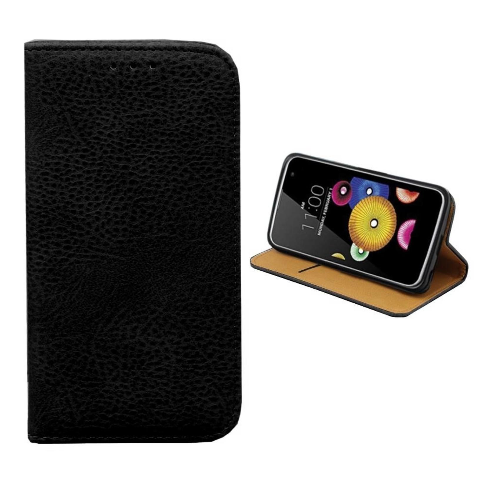 Colorfone Hoesje Book voor LG K4 Zwart
