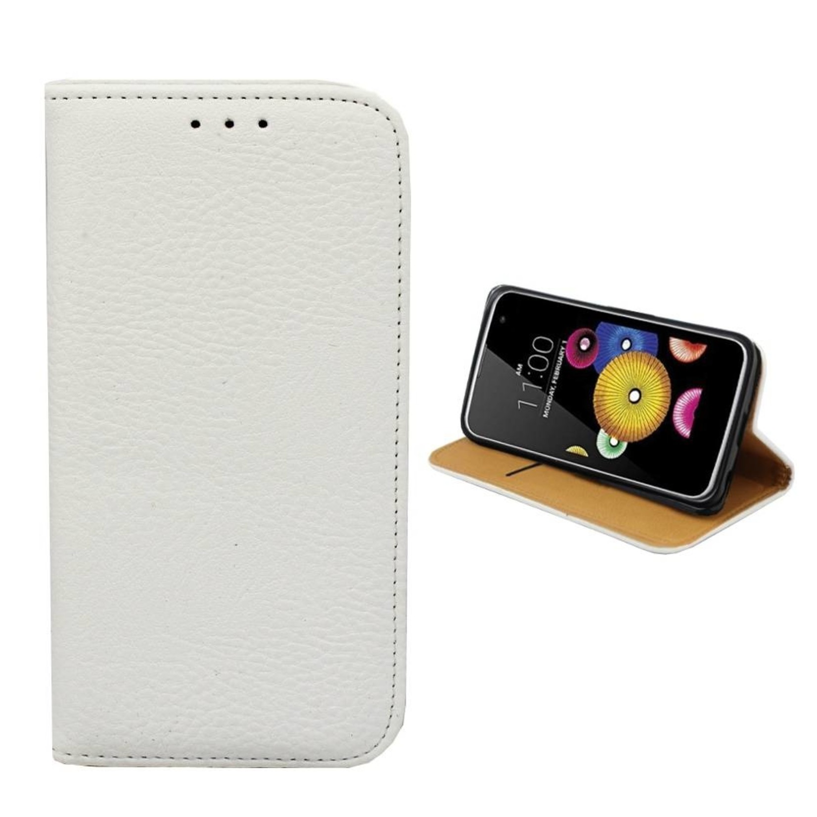 Colorfone Hoesje Book voor LG K7 Wit