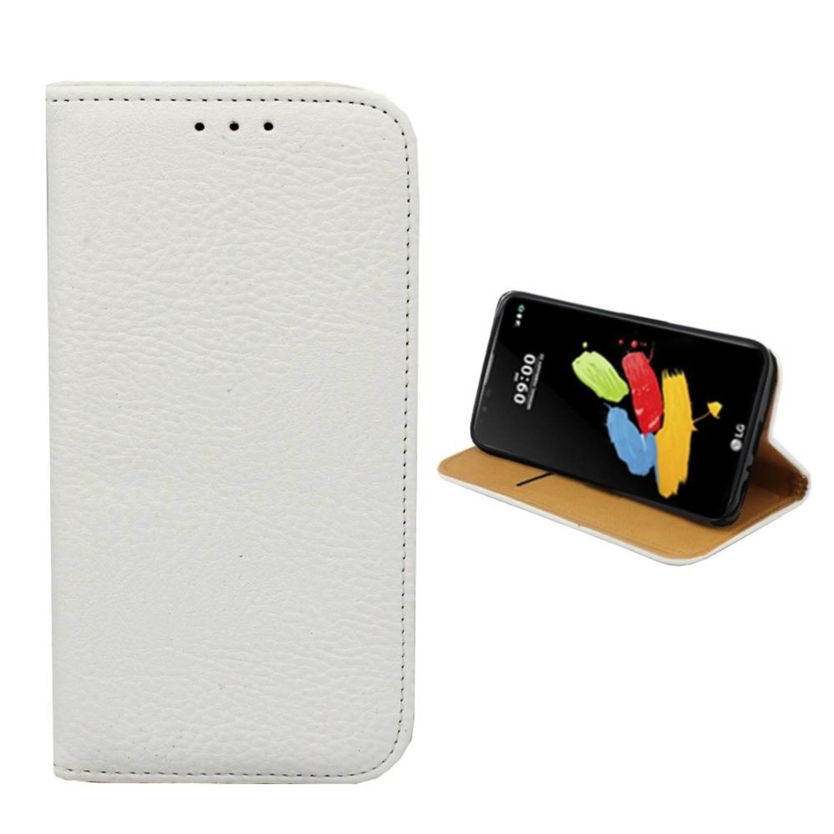 Colorfone Hoesje Book voor LG Stylus 2/Plus Wit