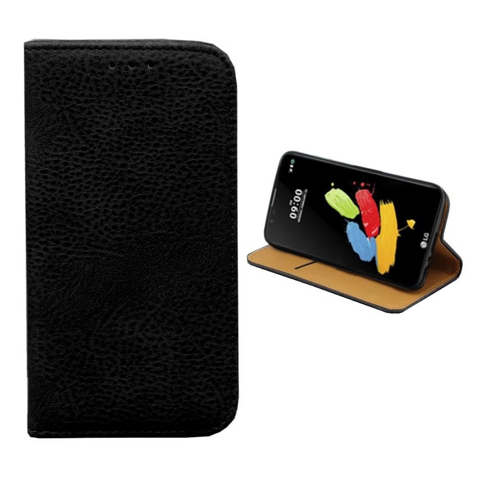 Colorfone Hoesje Book voor LG Stylus 2/Plus Zwart