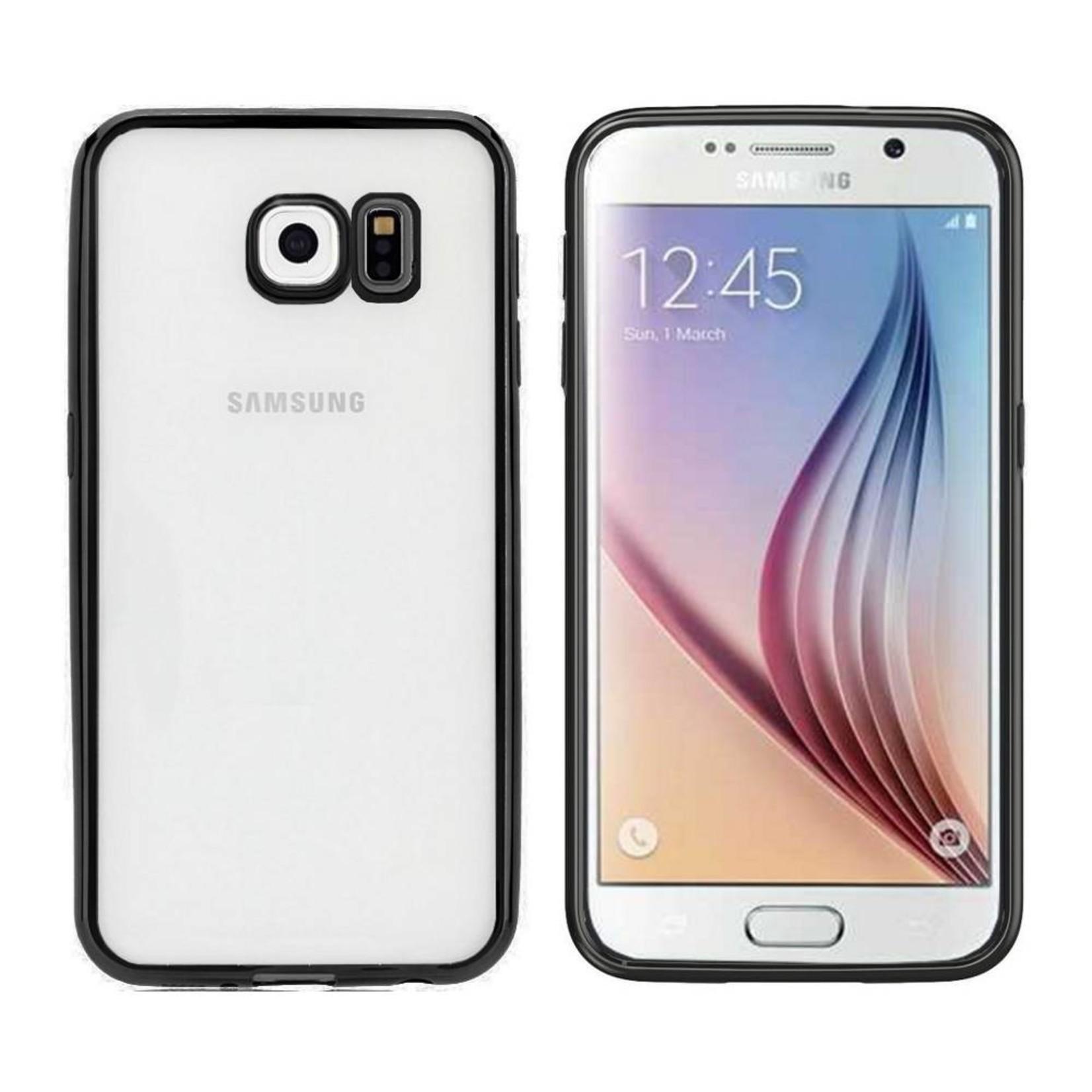 Colorfone Hoesje CoolSkin Bumper Clear Samsung Galaxy S6 Zwart
