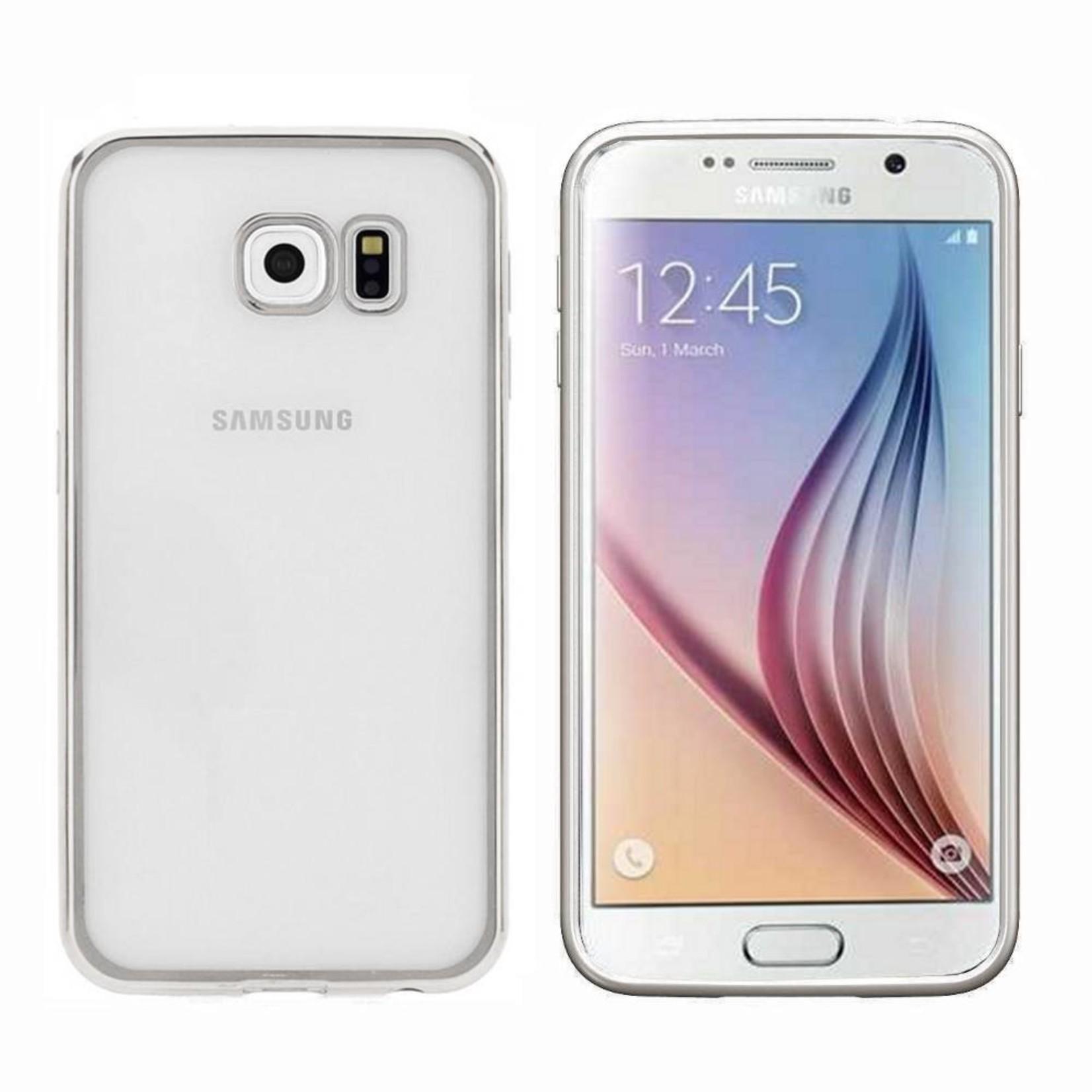Colorfone Hoesje CoolSkin Bumper Clear Samsung Galaxy S7 Zilver